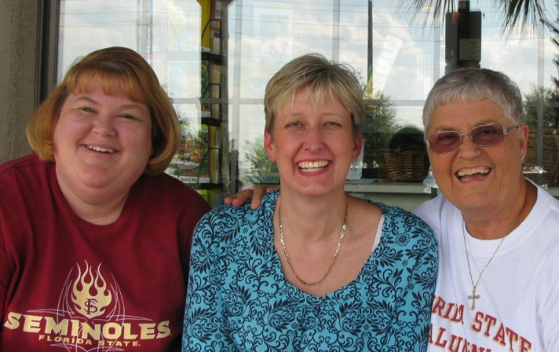 SANDI JIMMERSON, LAURIE ULLOM, SHIRLEY TIPPIN B.