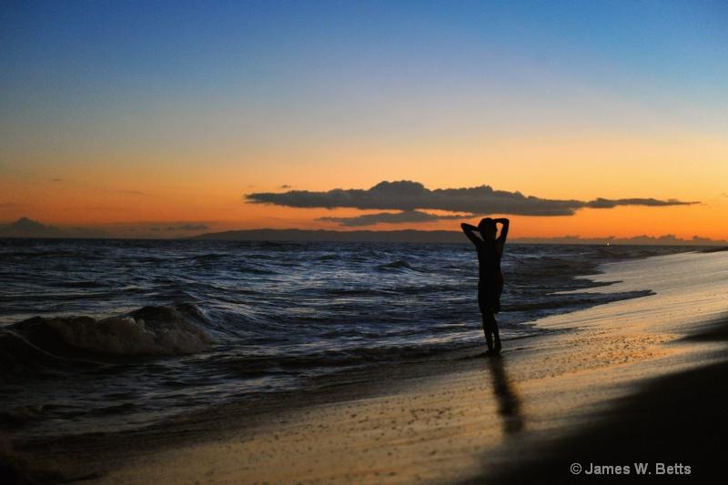 Sunset Beach Walk