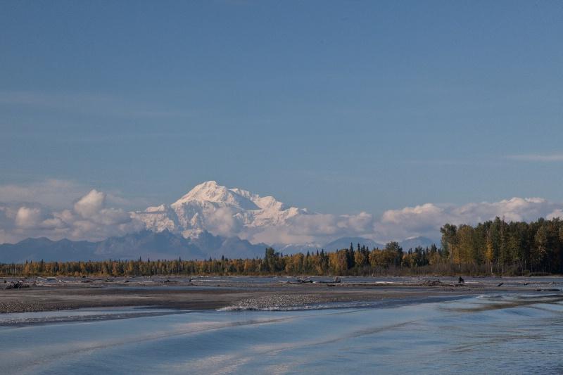Denail (Mt. McKinley from Susitna River
