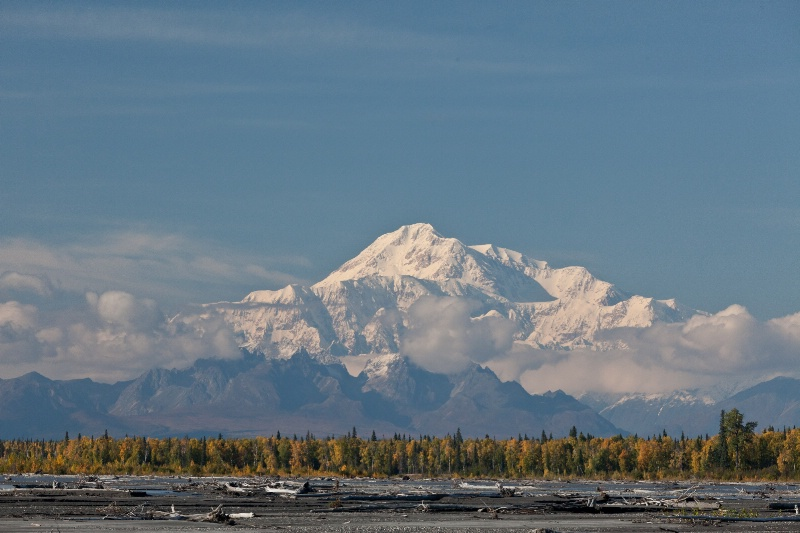Denali (Mt. McKinley) from Susitna River