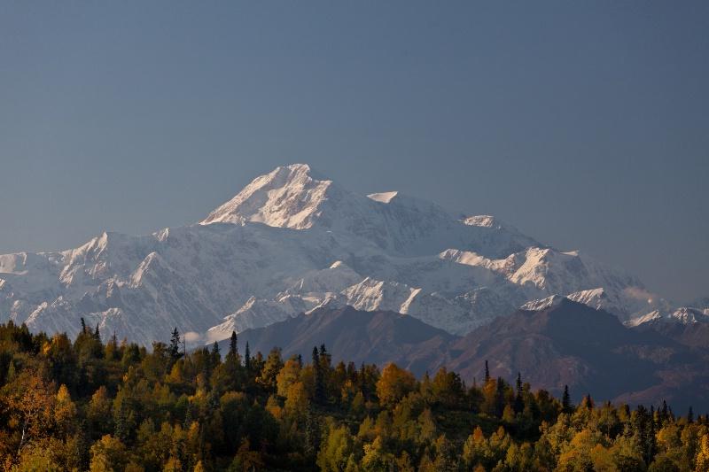 Denali (Mt. McKinley) from Mt. McKinley Lodge