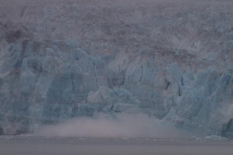 Hubbard Glacier - calving