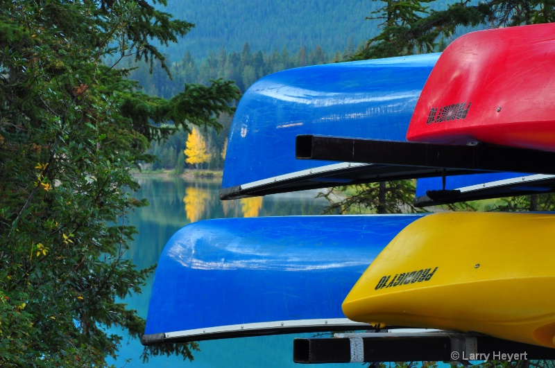 Canoe Rentals along Bow River