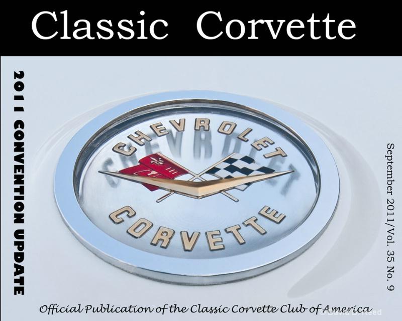 1961 Corvette trunk emblem