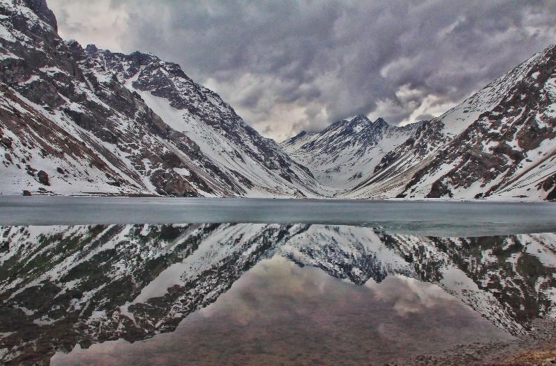 Frozen reflections