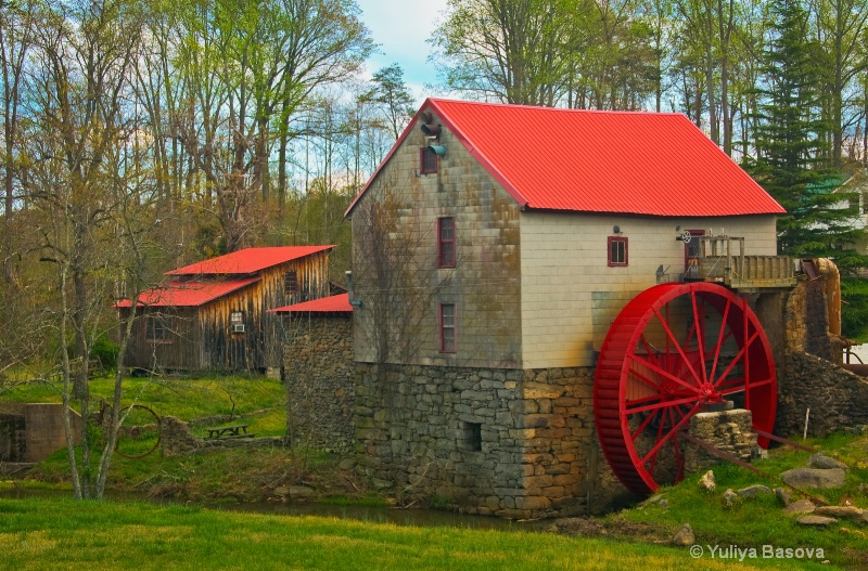 Spring at the Old Mill of Guilford