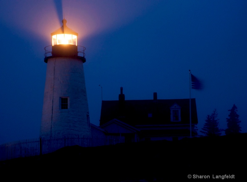 Lighthouse at Pemaquid