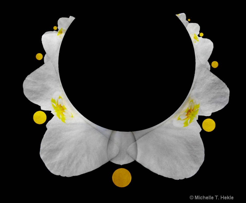 white orchid necklace2