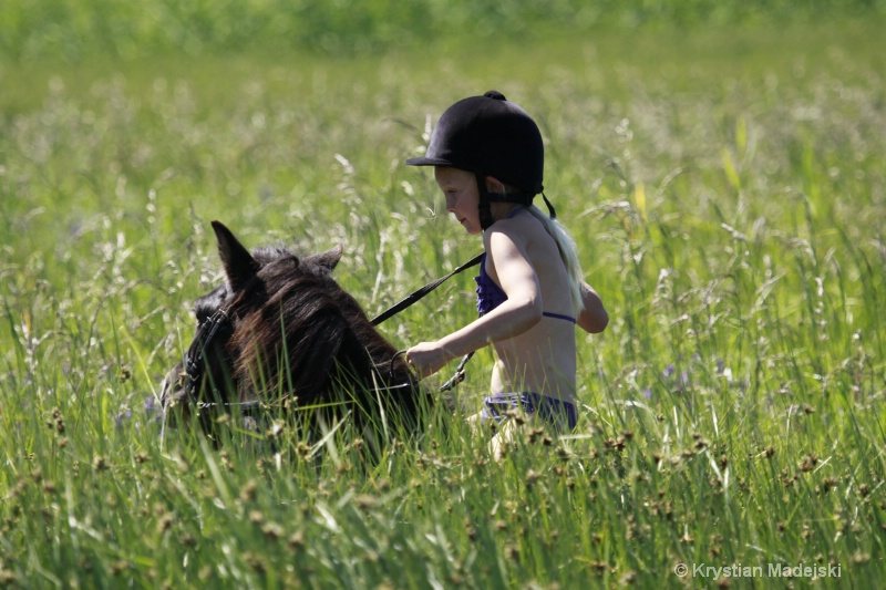 Fotografier - barnridläger 2011