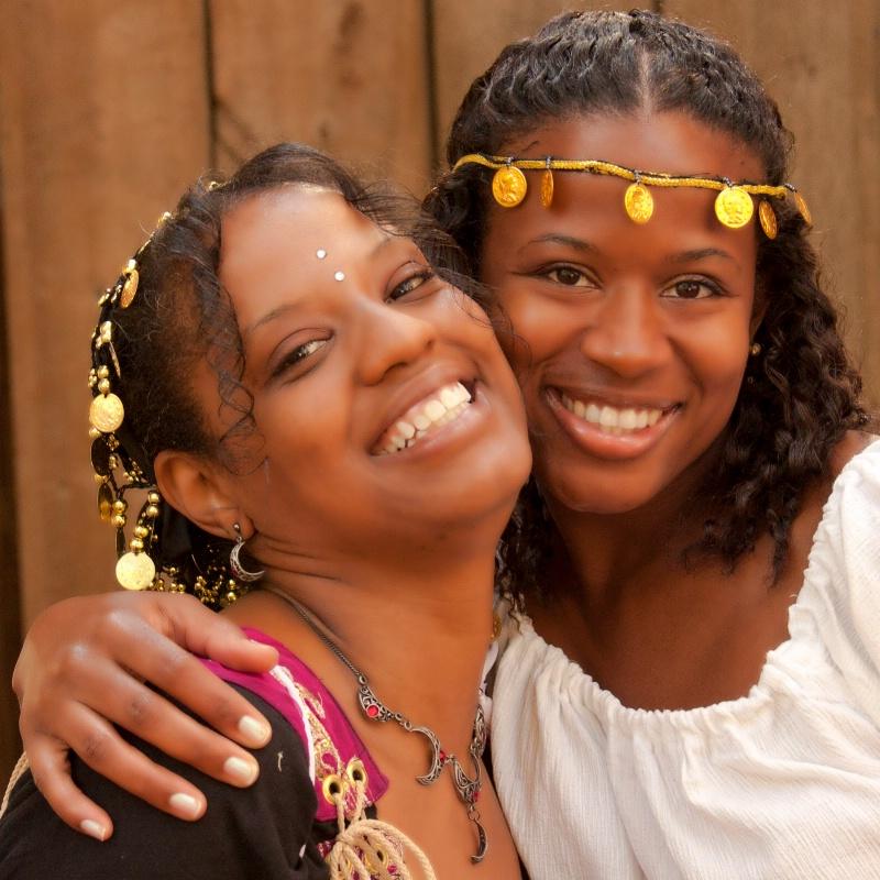 Laini and Tiffany