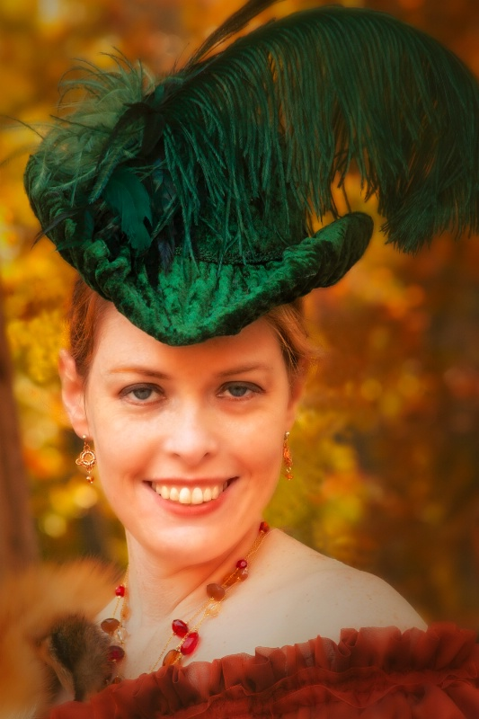 Lady with the Green Plume