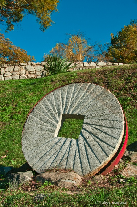 Old Grinding Stone