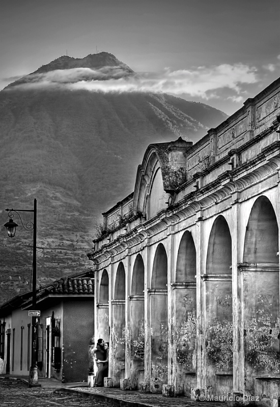 Archs and Volcano