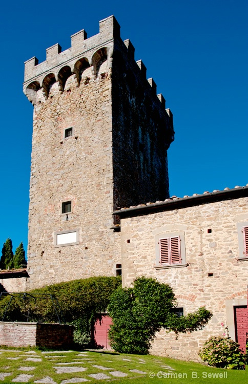 Castello di Gargonza Tower