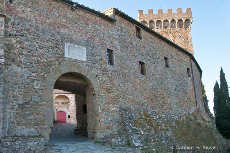 Castel Entrance with Tower