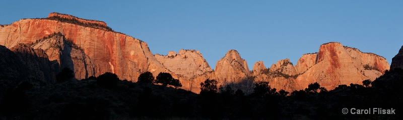 Towers of the Virgin ~ Zion National Park
