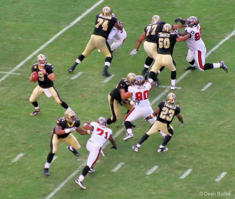 Pass Protection - Raymond James Stadium