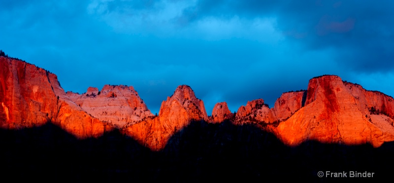 Tower of the Virgins, Zion National Park