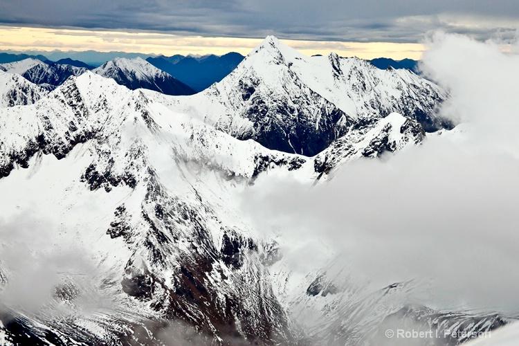 Alaska Range fly by