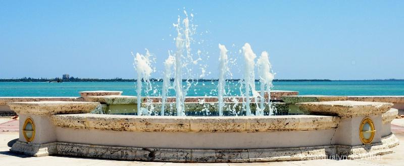 The Fountain Blue!