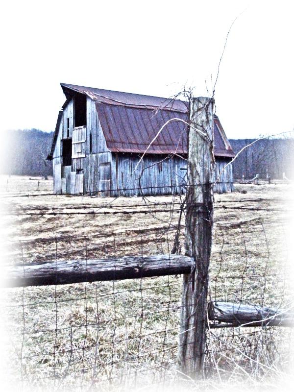 barn and post