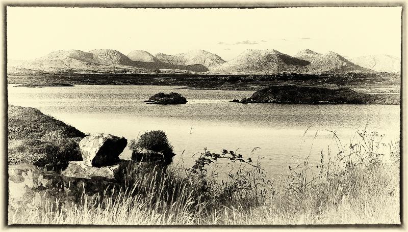Isles in Western Ireland