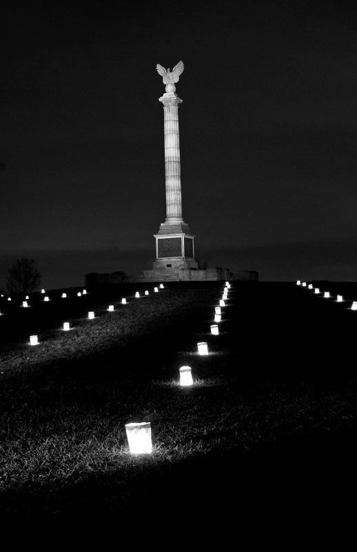 Antietam Monument Illumination