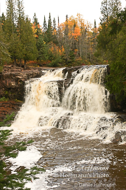 Gooseberry Falls  High falls