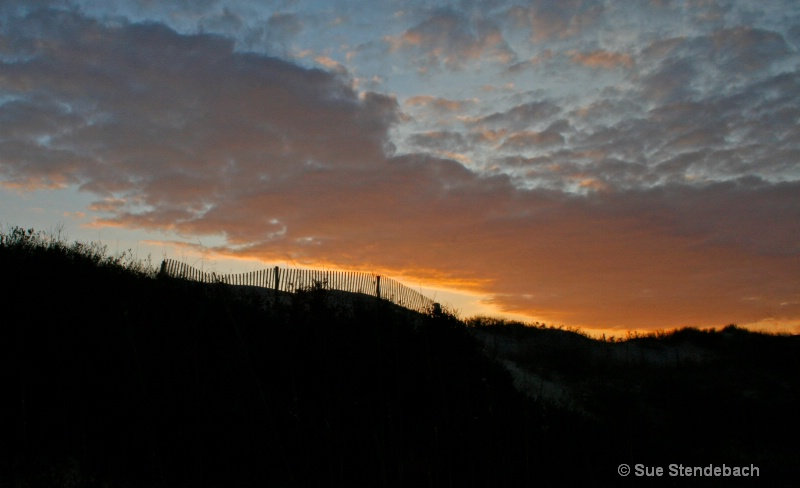 Sunrise Over the Dunes, Duck, North Carolina