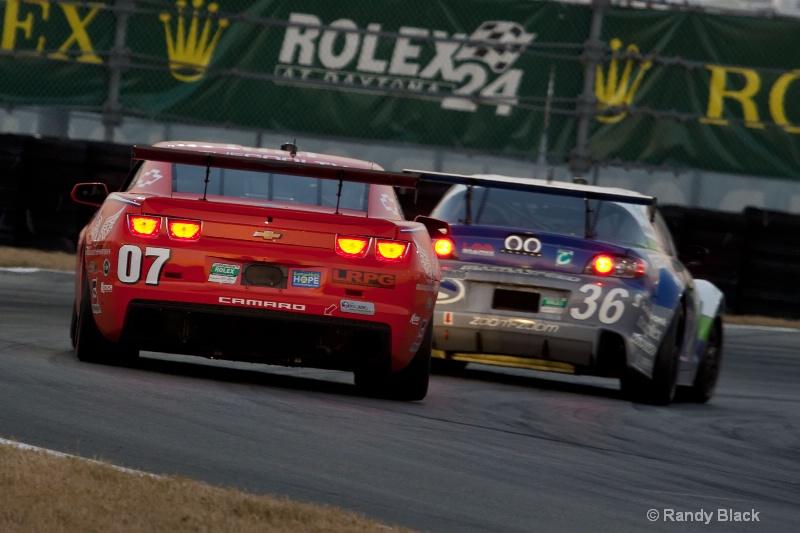 Banner Racing #07 and Yellow Dragon #36