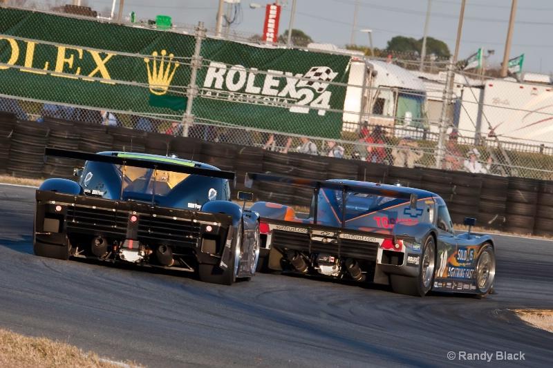 Microsoft Racing #55 and Sun Trust  #10