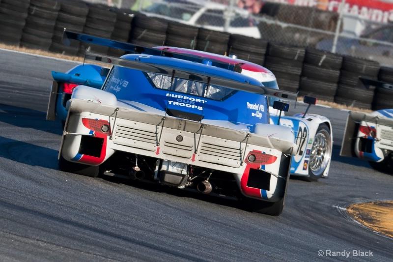 Ganassi Racing #01 and #02
