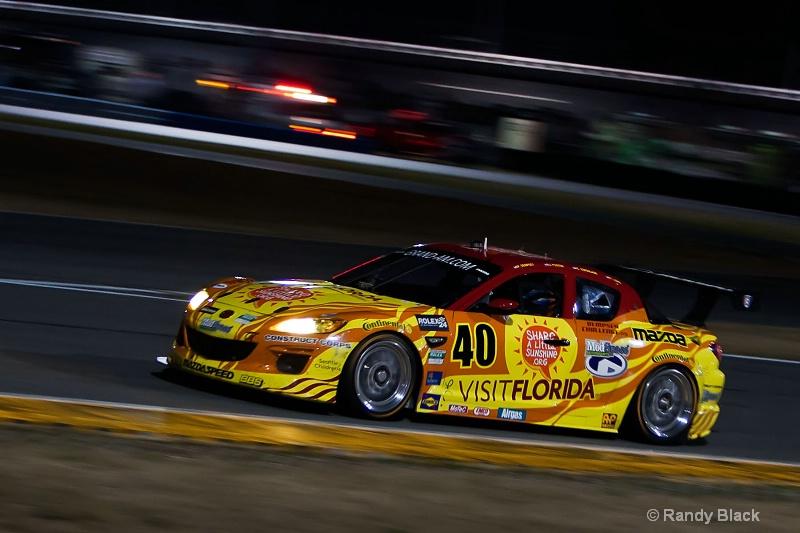 Dempsey Racing #40 RX-8, 2011