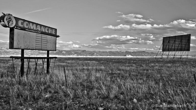 Drive-In Gone By, Buena Vista, Colorado