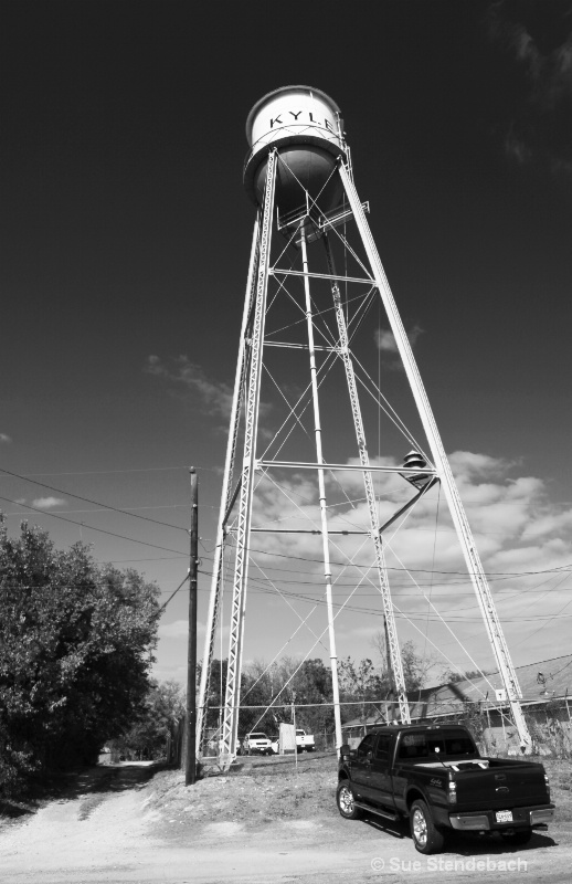 Water Tower, Kyle, Texas