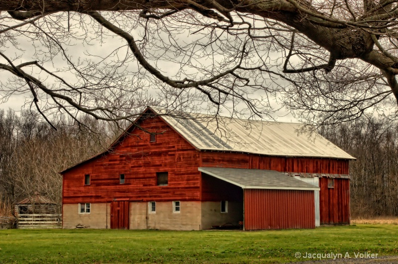 A Country Barn