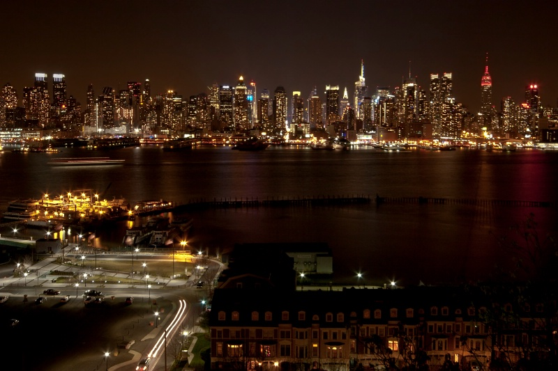 Night View from Across the Hudson
