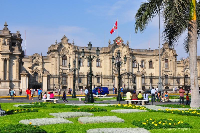 Lima, Peru- Presidential Palace