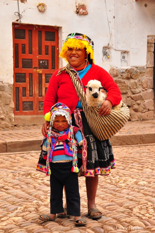 Local Peruvians at Pisac Market