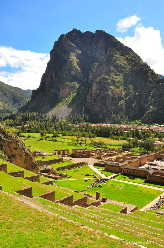 Peru- Archaelogical Park at Ollantaytambo