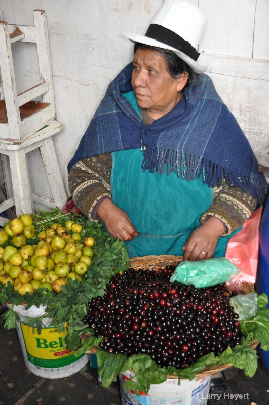 Peru- Marketplace in Cusco