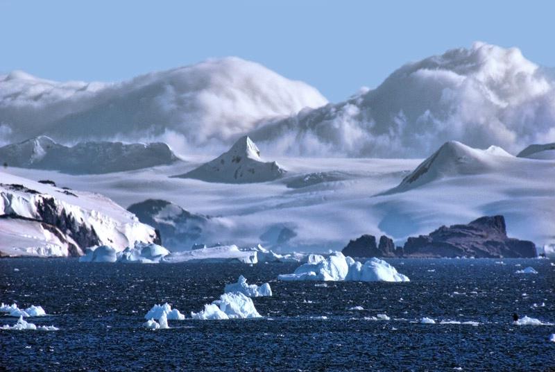 Antarctic Coastline.