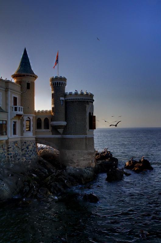 Sunset in Viña del Mar