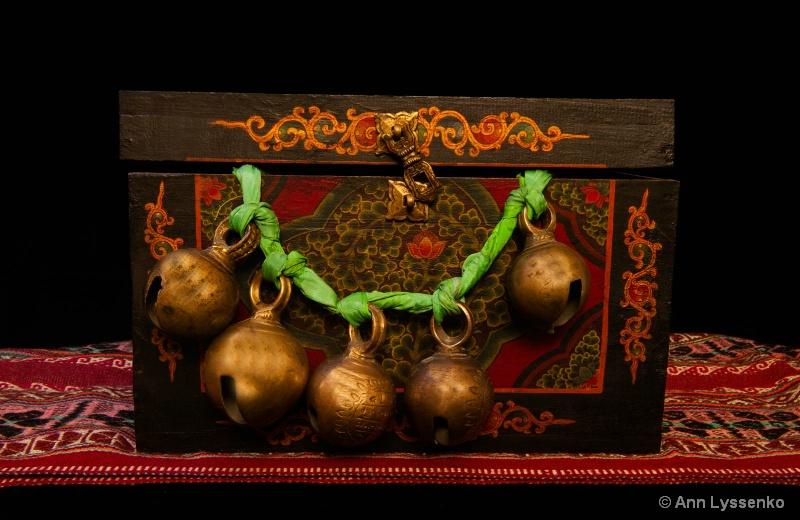 Five Tibetan Bells