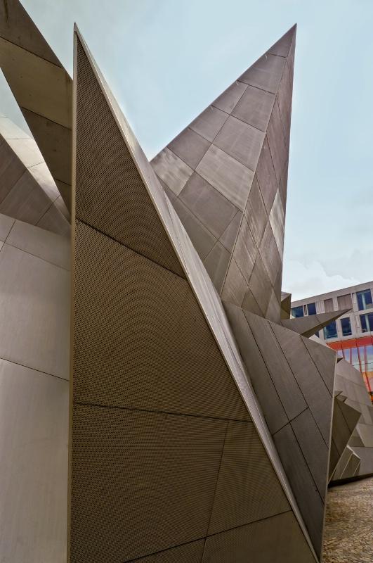 Stainless steel building, Melbourne, Australia