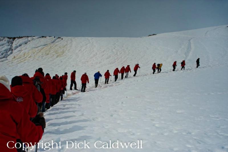 Hiking, Antarctica