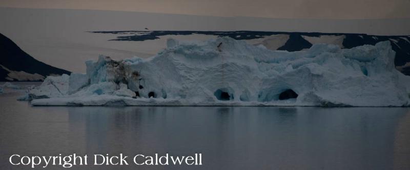 Ice and iceburg, Antarctica