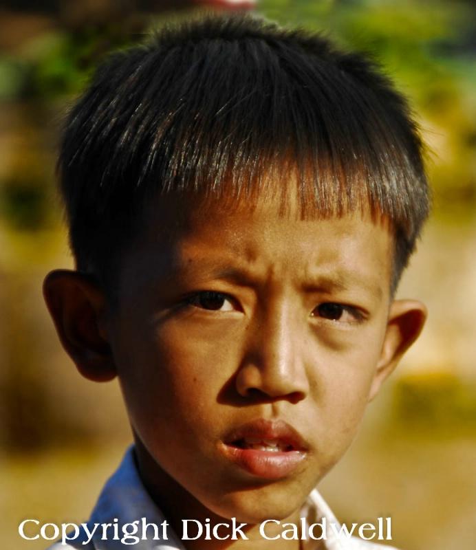 Pensive, Cambodia