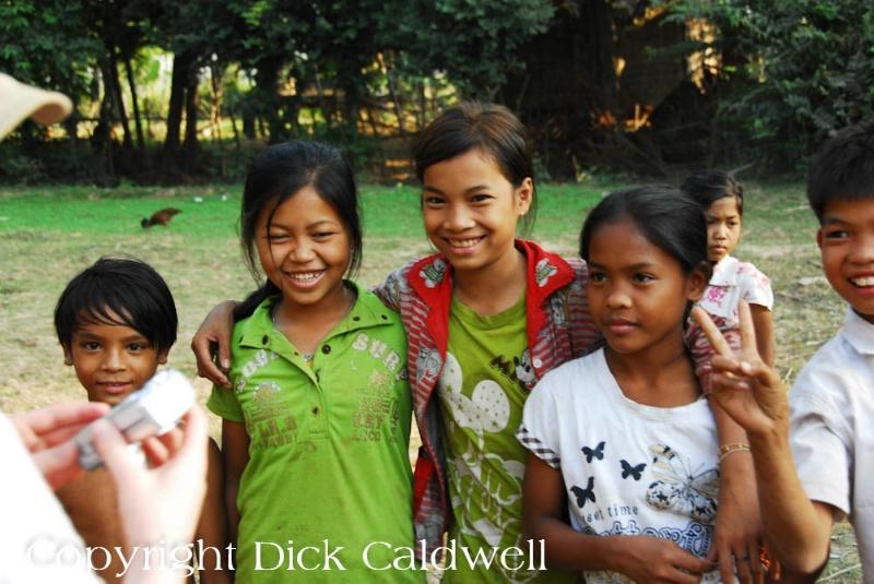 Smiles of the children, Cambodia