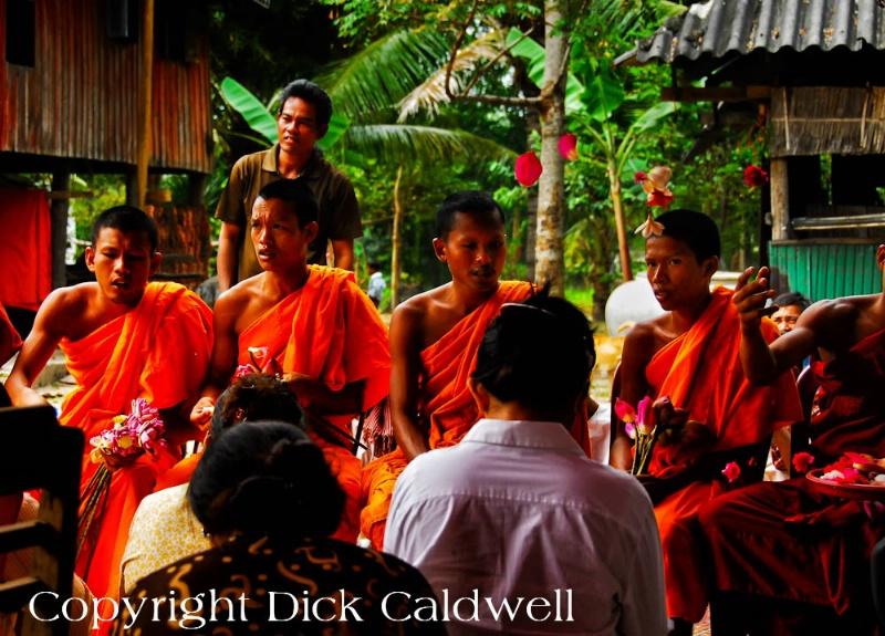 Giving ceremony, Cambodia